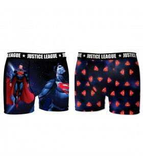 Lot de 2 Boxers homme Justice League