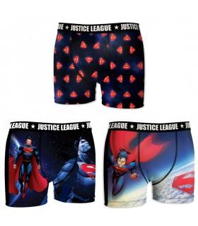 Lot de 3 Boxers garçon Justice League