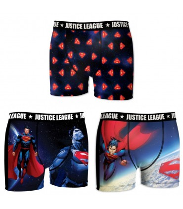 Pack of 3 boy's Justice League Boxers
