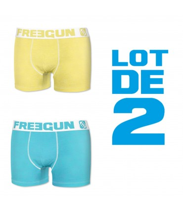 Lot de 2 Boxers coton FREEGUN Fresh