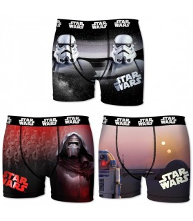 Star Wars Lot De 3 Boxers Garçon