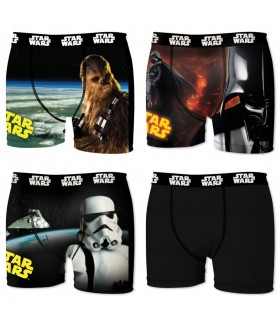 Lot de 4 boxers homme Star Wars 1