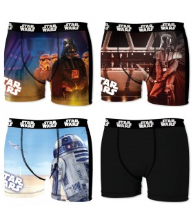 Pack of 4 men's Star Wars Boxers 2
