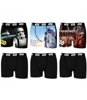 Lot De 6 Boxers Star Wars StormTroopers
