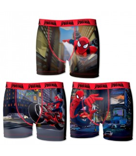 Lot De 3 Boxers Garçon Marvel Spiderman