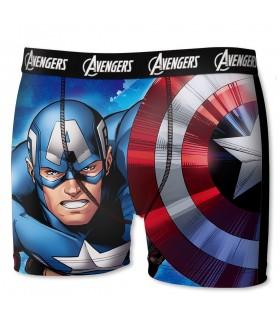 Boxer garçon Marvel Captain
