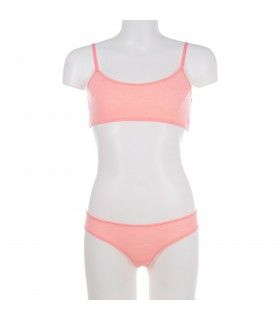 Girl's unicolor Boxer Set