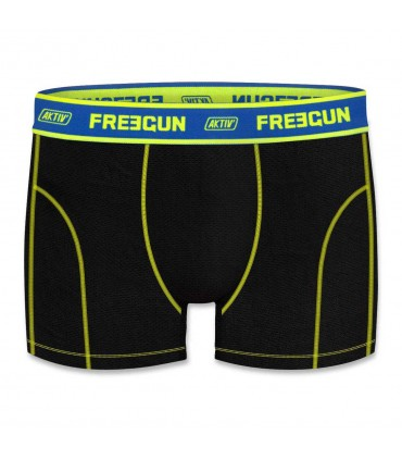 Aktiv Black and Blue Men's Boxer colorz