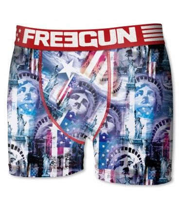 Boxer garçon liberty freegun multicolore