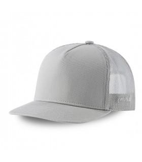Men's Capslab Colorz Grey Trucker Cap