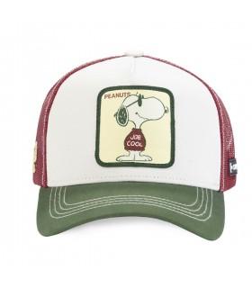 Peanuts joe Beige Capslab Cap with mesh front of the cap
