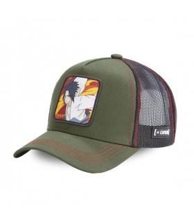 Naruto Sasuke Grey Capslab Cap with mesh