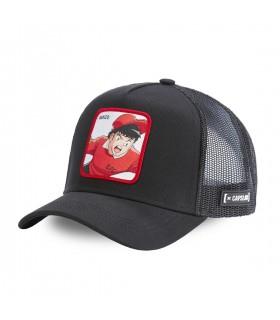 Captain Tsubasa Genzo Black Capslab Cap with mesh