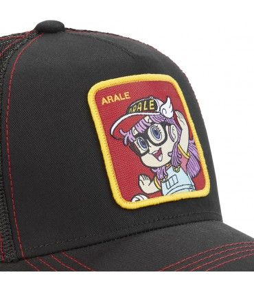 Dr Slump Arale Capslab Cap with mesh zoom on the patch