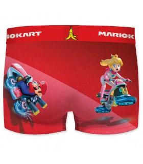Boxer microfibre homme Mario Kart vue de dos