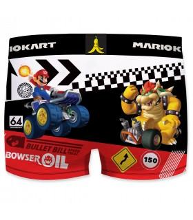 Boxer microfibre garçon Mario Kart Versus