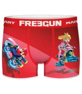 Lot de 3 Boxers microfibre homme Freegun Mario Kart
