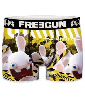 Pack of 5 men's Raving Rabbids Boxers
