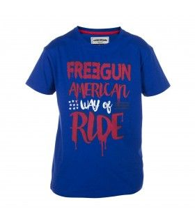 T-shirt Garçon Freegun Ride