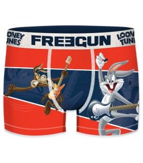 Lot de 3 Boxers Freegun homme Looney Tunes Rock, One, Ring