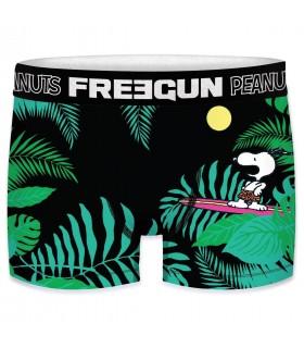 Boxer Freegun homme Peanuts Tropical