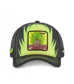 Dragon Ball Broly Green Cap with mesh