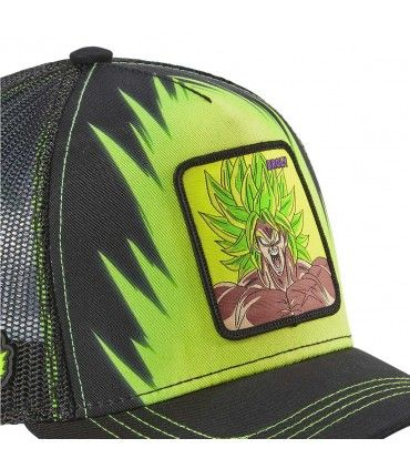 Dragon Ball Broly Green Cap with mesh