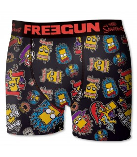 Boxer Freegun garçon Tatoo Simpsons