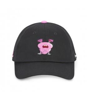 Dr Slump Poop Black Cap front of the cap