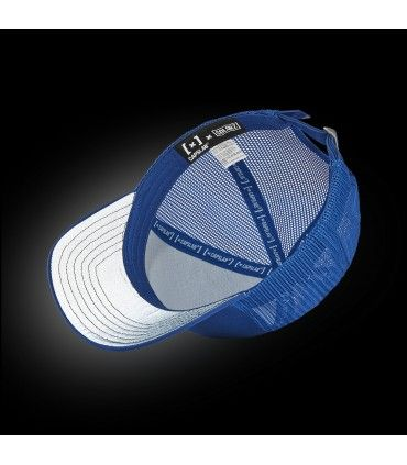 Colorz Blue Trucker Cap