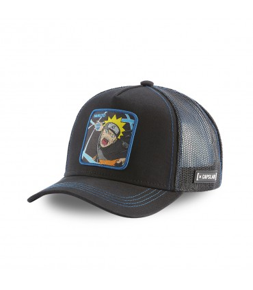 Naruto Black Capslab Cap with mesh