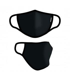 Masque Tissu Lavable en trois couches Black