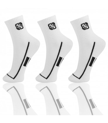 Chaussettes Blanches Homme x 3