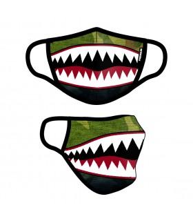 Masque Tissu Lavable en trois couches Shark