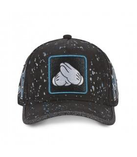 Men's Capslab Disney Mickey print effect Cap