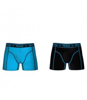 Pack of 2 Men's cotton Aktiv Blue Boxers