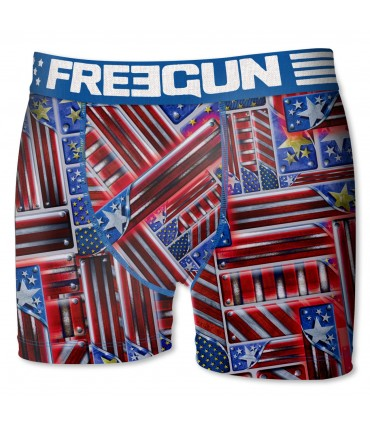 Boxer garçon bar freegun multicolore