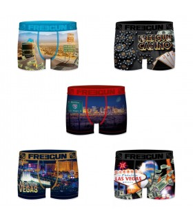 Lot de 5 Boxers Freegun homme Vegas