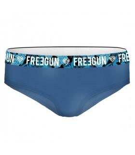 Boxer Freegun fille coton Bio Feuille