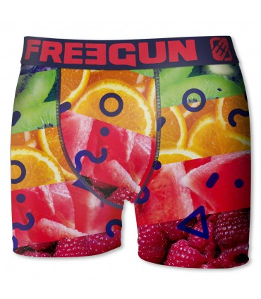 Boxer garçon fruit freegun multicolore