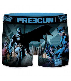 Lot de 3 Boxers Freegun homme DC Comics