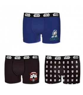 Lot de 3 Boxers coton garçon Star Wars
