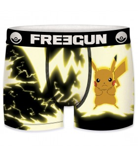 Boxer homme Pokemon Eclair Pikachu