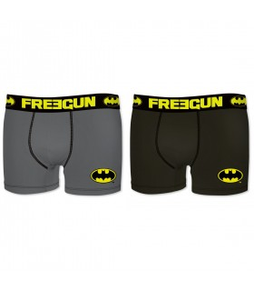 Lot de 2 Boxers Freegun coton DC Comics Batman homme