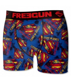 Boxer Garçon DC Comics Logo Superman Freegun