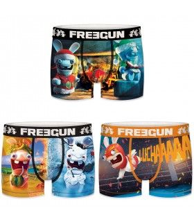 Pack of 3 men's Raving Rabbids Boxers