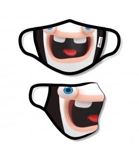 Masque grande taille en tissu Lavable en 3 couches