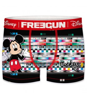 Boxer Freegun homme Disney Mickey Glitch