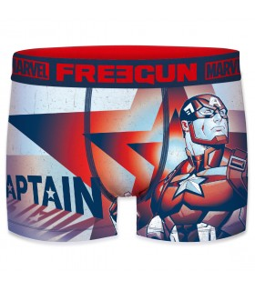 Boxer Freegun garçon Marvel Captain America