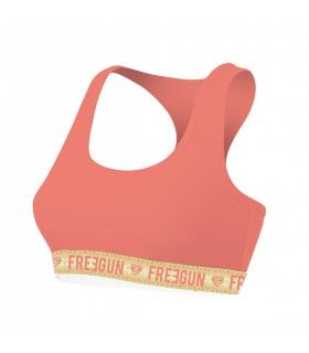 Lot de 3 Brassières Freegun fille Coton Bio